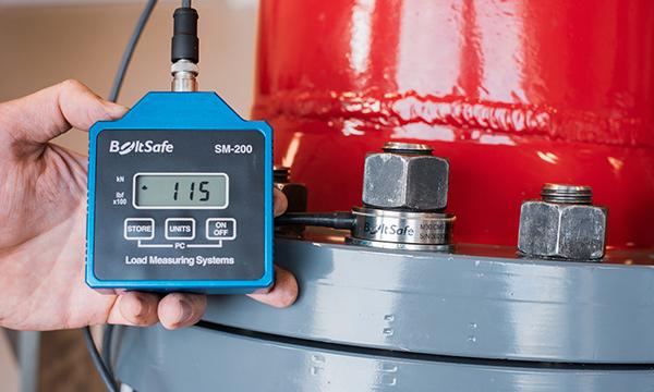 BoltSafe the solution bolt load measurement