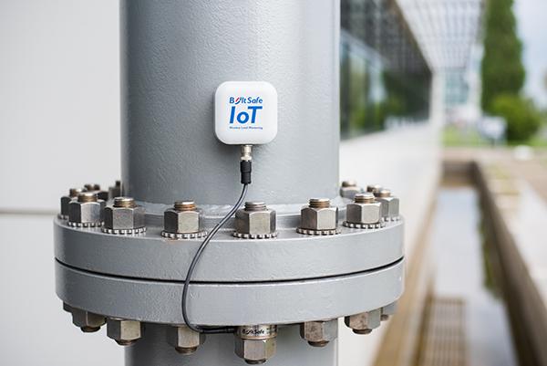 BoltSafe IoT-node in use