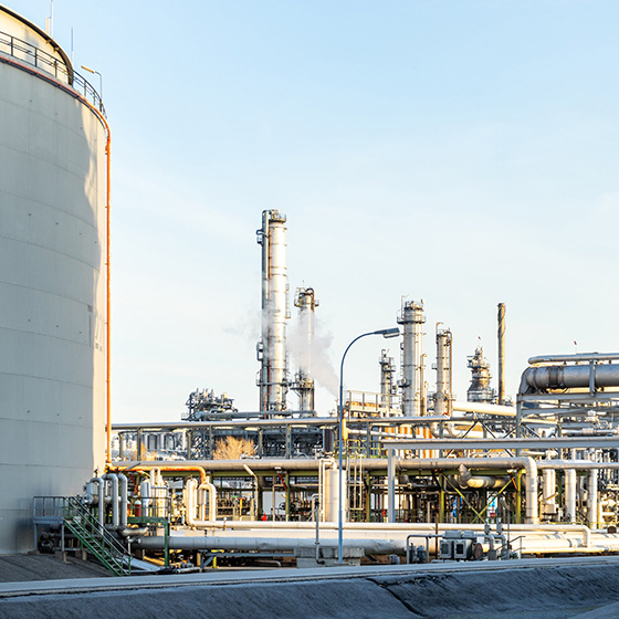 Petrochemical-compressed